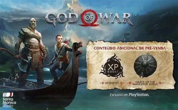 god of war pre venda