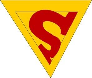 símbolo de 1940 - hq Superman #6