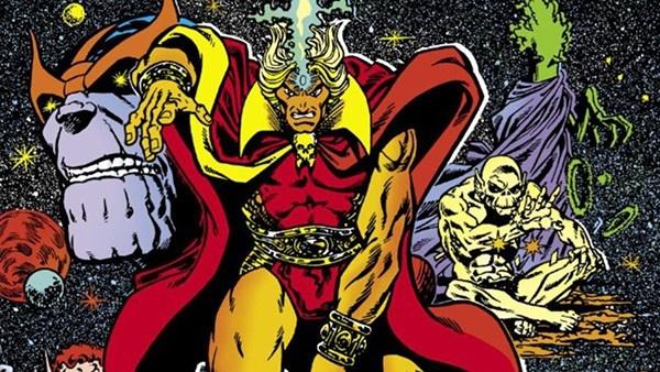 Adam Warlock e Thanos
