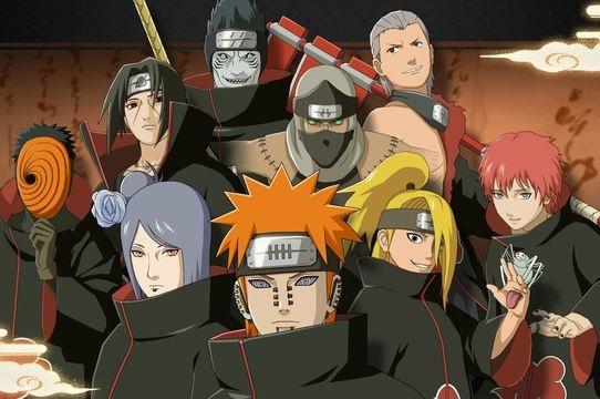 Akatsuki: todos os membros, a história e poderes de cada um   Naruto