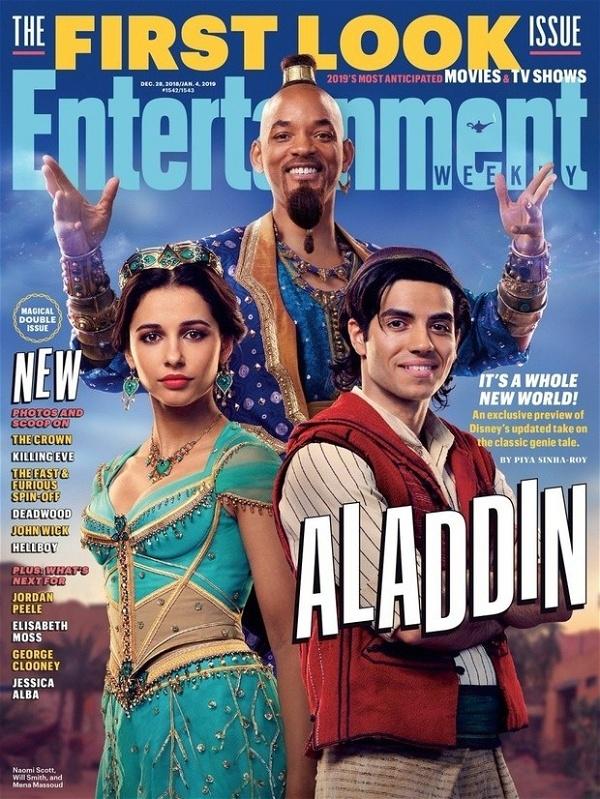 Aladdin: Primeira Imagem De Will Smith Como Gênio