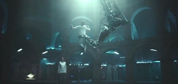 A máquina Animus no filme
