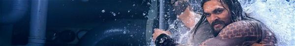 Aquaman: Guerreiros de Atlantis montam tubarões e dragões-marinhos