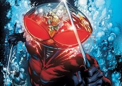 Aquaman: Primeira foto do vilão Arraia Negra e mais informações!