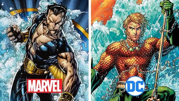 Namor e Aquaman