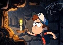 Desvende os mistérios de Gravity Falls com o curioso Dipper