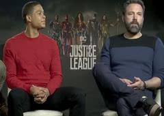 Atores revelam quais os heróis que desejam ver na sequência de Liga da Justiça
