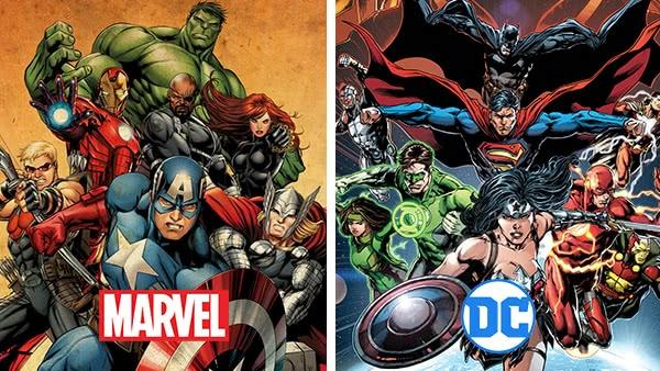 Vingadores e Liga da Justiça