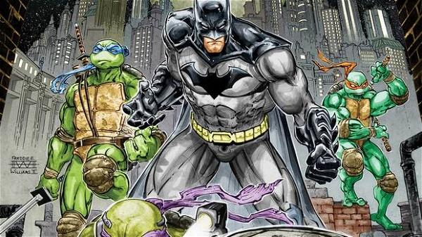 batman tartarugas ninja