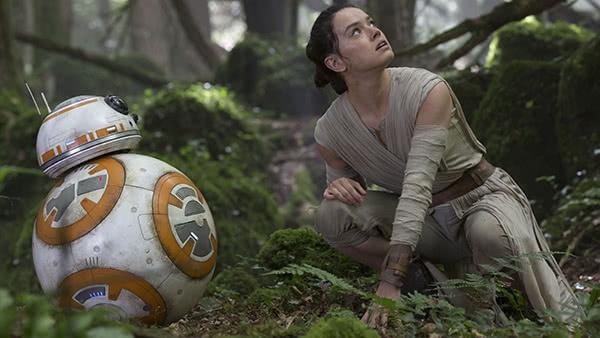 BB-8 e Rey