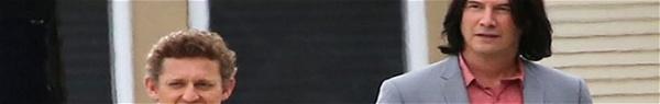 Bill e Ted 3 | Imagens dos bastidores mostram Keanu Reeves e Alex Winter!