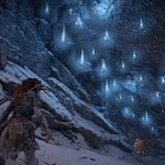 Onde encontrar Brilho Azul em Horizon Zero Dawn: The Frozen Wilds