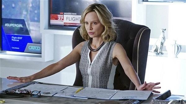 Calista Flockhart supergirl