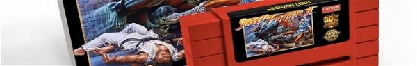 Capcom anuncia Street Fighter II em versão cartucho para Super Nintendo!
