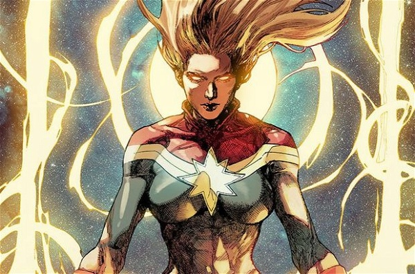 Capitã Marvel Lista