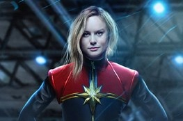 Capitã Marvel: Artes vazadas têm Nick Fury jovem, uniforme de voo e capacete