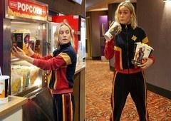 Capitã Marvel | Brie Larson surpreende fãs em cinema!