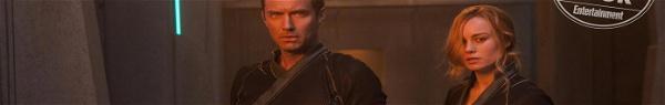 Capitã Marvel: Descrição de cena revelou personagem de Jude Law?