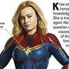 Capitã Marvel e Talos ganham várias novas informações em livro da Marvel!