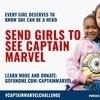 Capitã Marvel: Famosos apoiam campanha para levar meninas ao filme