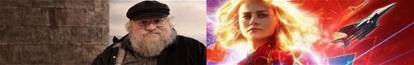 Capitã Marvel | George R.R. Martin fala (muito bem!) da heroína!
