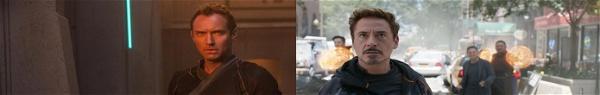 Capitã Marvel: Jude Law recebeu conselho de Robert Downey Jr.