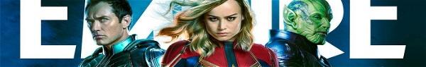 Capitã Marvel: Novas imagens da heroína, Yon-Rogg, Talos e Skrulls