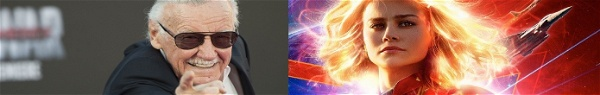 Capitã Marvel | Site oficial tem imagem escondida de Stan Lee