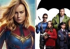 Capitã Marvel tem uma conexão com Umbrella Academy?