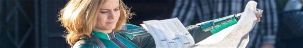 Capitã Marvel: vídeo do set traz heroína demonstrando sua força