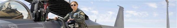 Capitã Marvel | Vídeo traz treinamento de Brie Larson na Força Aérea