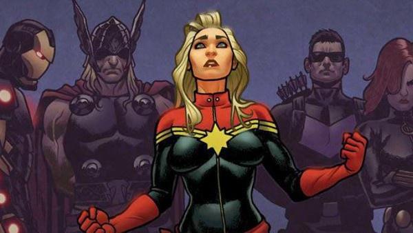 Carol Danvers e os Vingadores