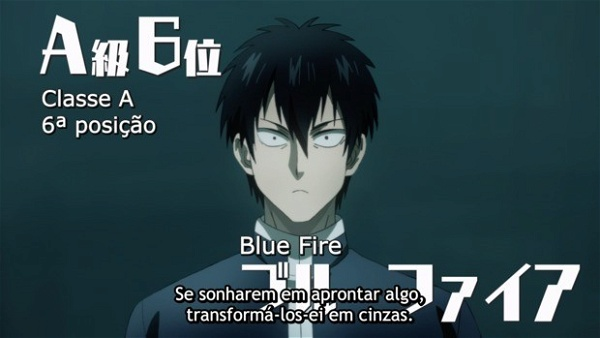 One punch man 2 - blue fire
