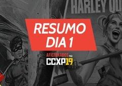 Aves de Rapina, 80 anos do Batman e tudo que rolou no 1º dia! | CCXP 2019