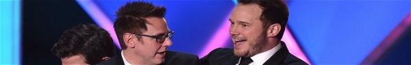 Chris Pratt diz que recontratação de James Gunn foi a coisa certa feita pela Disney