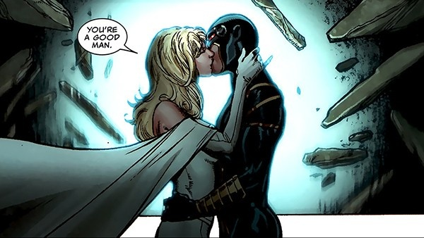 Ciclope e Emma Frost