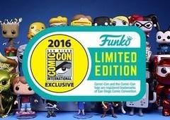 Lista dos novos Funko Pop exclusivos para a Comic Con 2016