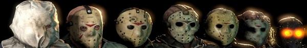 Conheça todos os rostos de Jason Voorhees!