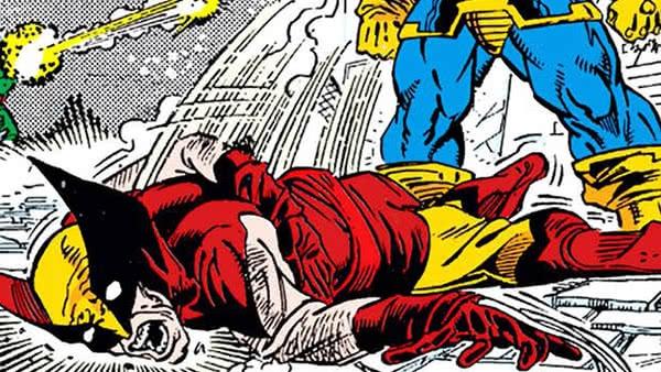 Não fique de corpo mole, Logan!