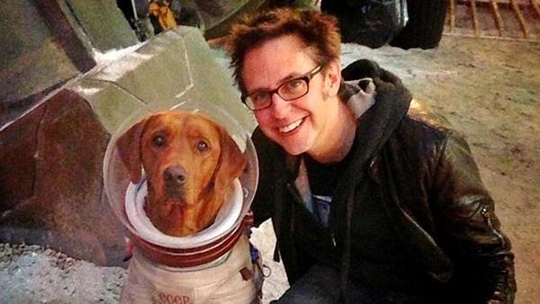 Cosmo e James Gunn