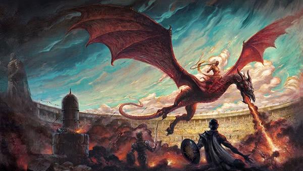 Daenerys Targaryen e Drogon