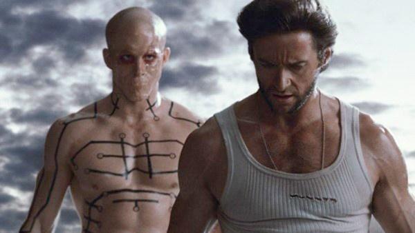 Deadpool e Wolverine em X-Men Origens: Wolverine
