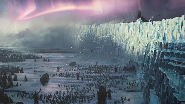 a melhor defesa é uma muralha gigante de gelo