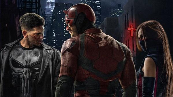 Justiceiro, Demolidor e Elektra