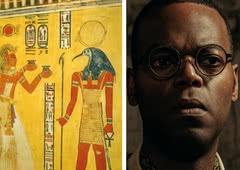 Descubra Mr. Ibis, o deus egípcio Thoth em Deuses Americanos