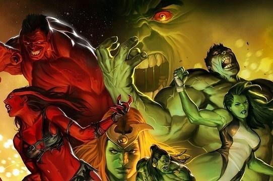 Sabia que existem vários Hulks? Conheça os 15 diferentes!