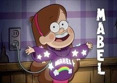 Divirta-se com Mabel, a garota hiperativa de Gravity Falls