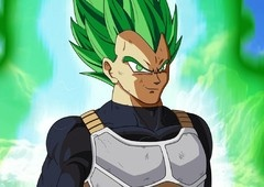 Dragon Ball Super: Broly - Super Saiyajin Verde apareceu no filme?