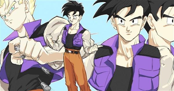 Dragon Ball Z Desenho Mostra Como A Aparência De Gohan