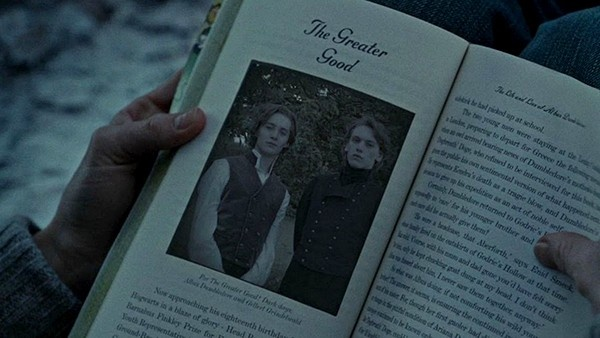 Dumbledore e Grindelwald